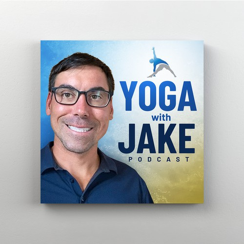 Podcast Cover for a Yoga Enthusiast