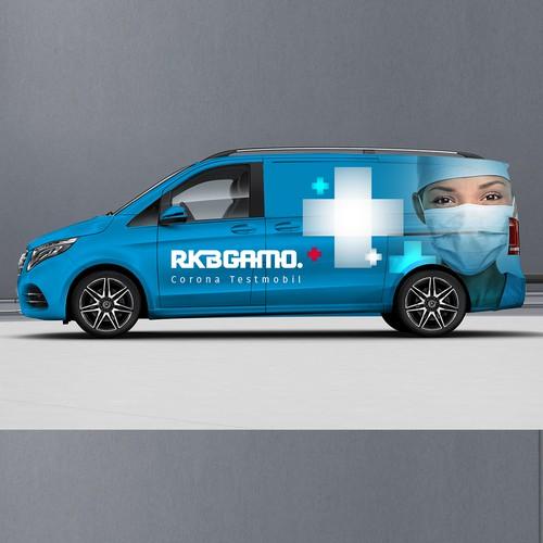 Medical Vehicle Wrap