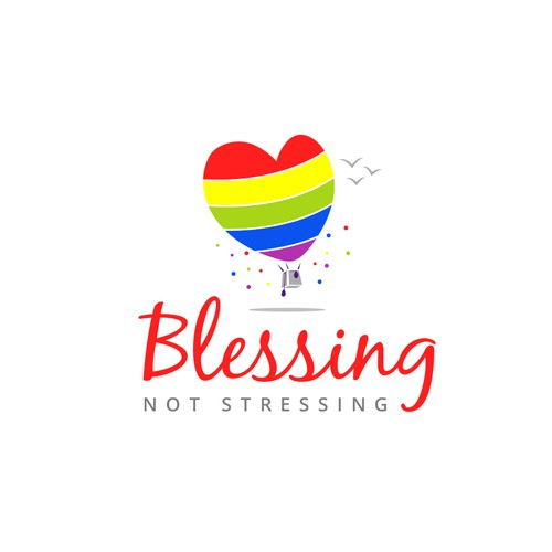 Blessing Not Stressing Logo (Podcast/Blog)
