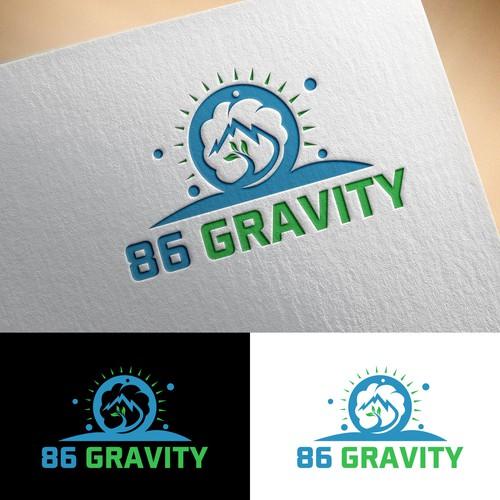Inspirational logo for 86 Gravity
