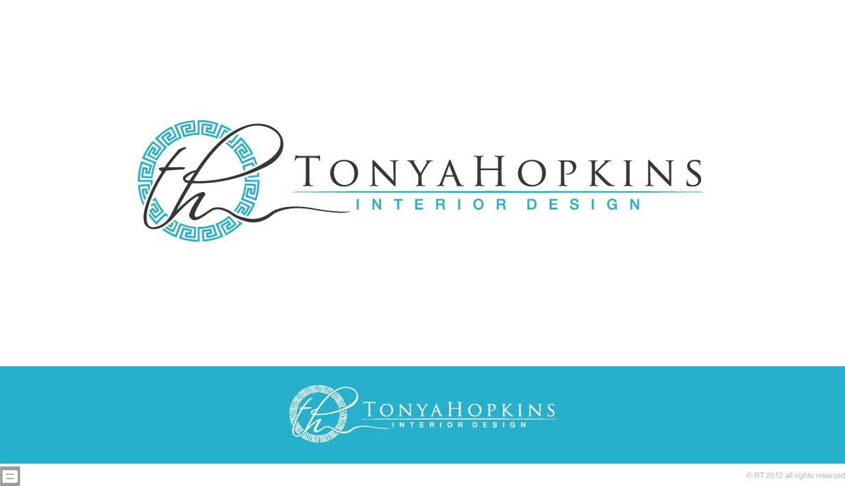 logo for Tonya Hopkins Interior Design