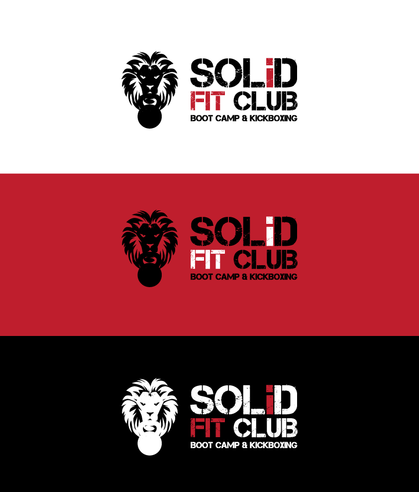 logo for SOLID FIT CLUB