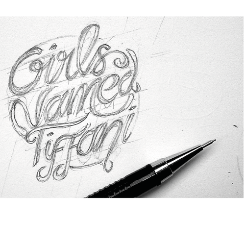 "Create a unique, eye-catching logo for a unique clothing store ""Girls Named Tiffani"""
