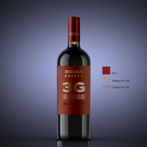 Nugan Estate New Wines Labels for Product Launch into China