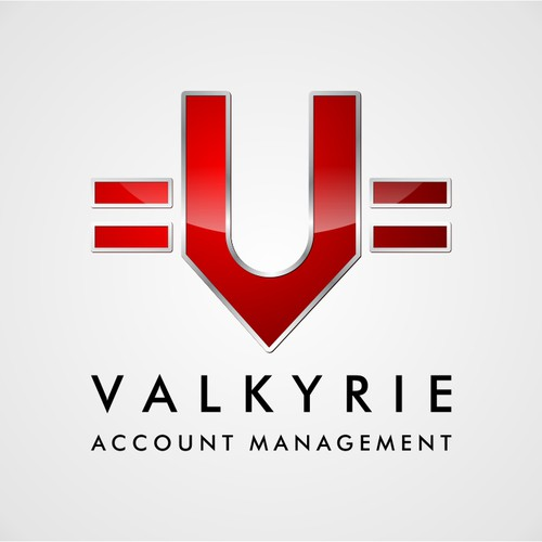 Create the next logo for Valkyrie Account Management