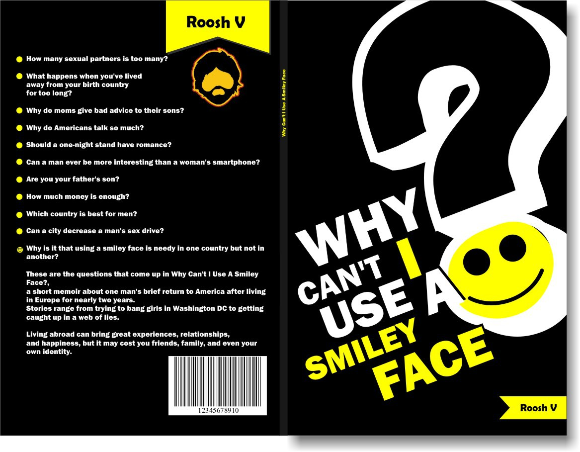 """Book cover for """"Why Can't I Use A Smiley Face?"""""""
