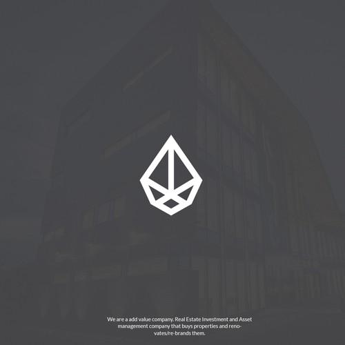 Ascent  simple and unique logo