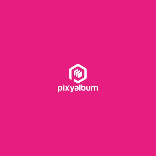 simple logo for pixy album