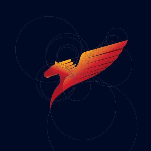 modern logo for pegasos