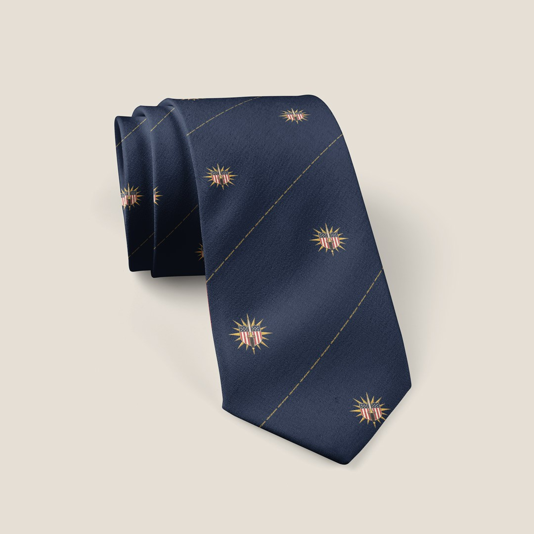 Pattern needed for a Necktie using image in brief