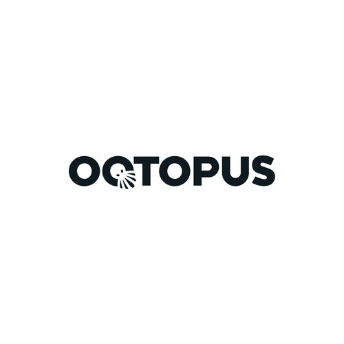 Simple logotype for Octopus AV studio