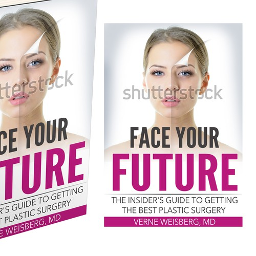 Create a world class cover for my book, an insiders guide to Plastic Surgery