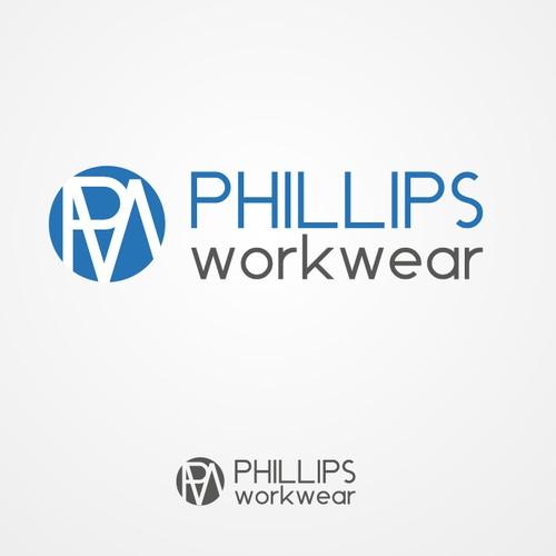 Create a winning logo for a work wear store.