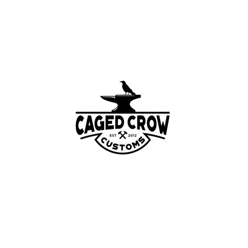 Logo for Caged Crow Customs