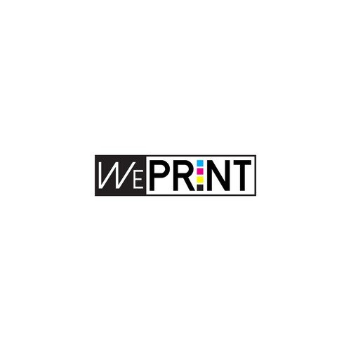 Logo for online print company