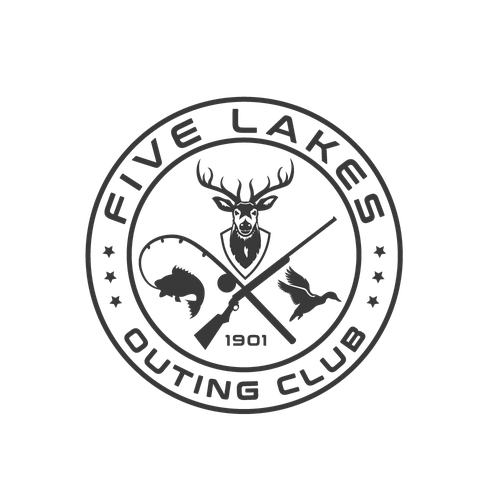 Traditional logo for hunting club