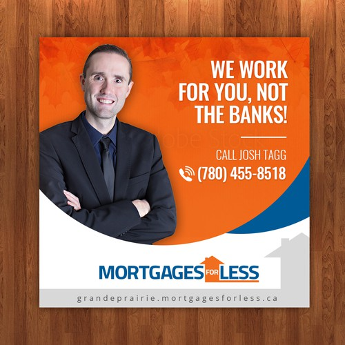 Facebook Sponsored Ad for Grande Prairie Mortgage Broker