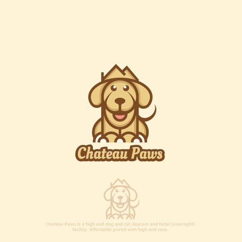 Bold Logo For Daycare Pets Hotel