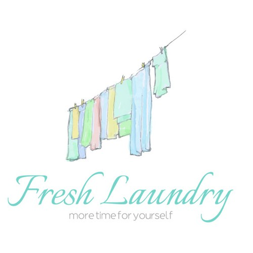 Help Fresh Laundry with a logo
