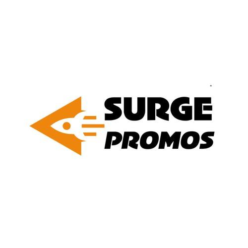 Logo design for surge promos company