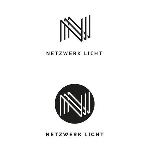 Logo-Design for Netzwerk Licht
