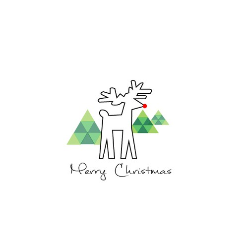 Christmas Card design for a small business