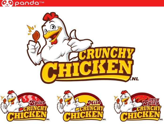 logo for crunchy chicken.nl