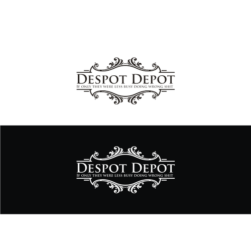 Create a thrilling and unique illustration for Despot Depot!