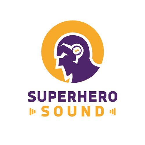 iconic logo for Superhero Sound