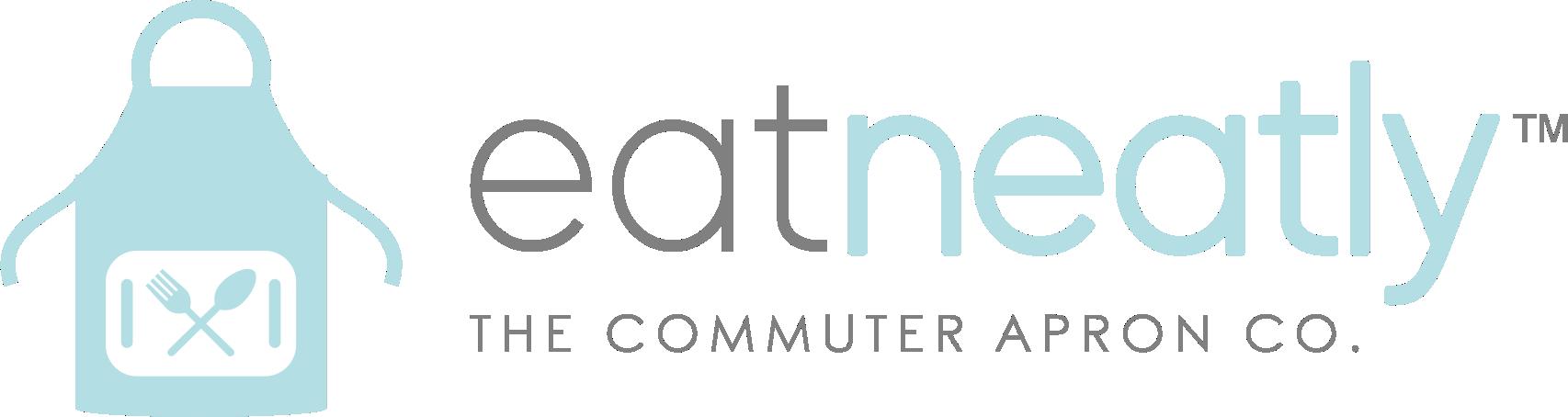 Create a unisex logo for the apron company Eat Neatly