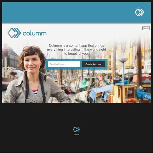 Columm Logo Design