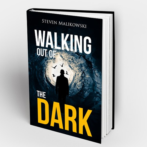 Walking Out of the Dark - Book Cover Contest