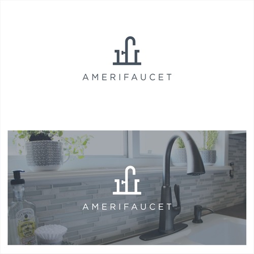 Powerful Modern LOGO for a FAUCETS BRAND