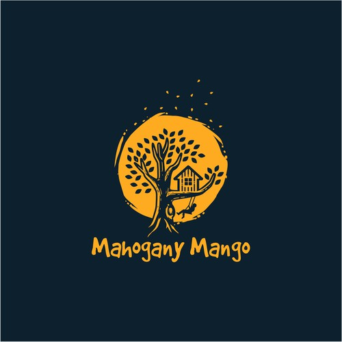 Logo for Mahogany Mango