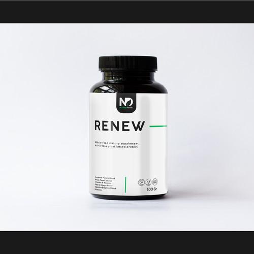 Simple medical label design