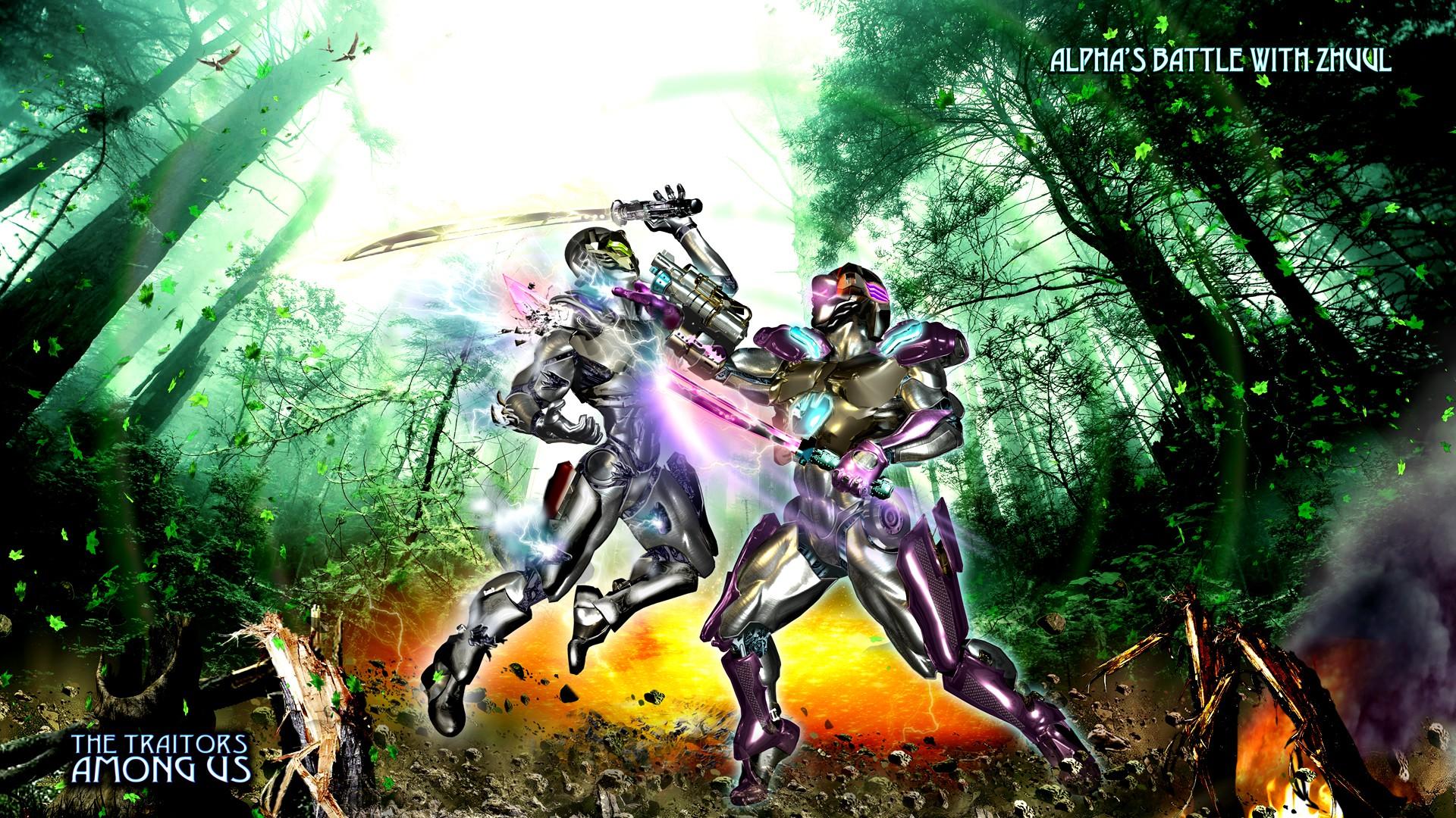 Zyborg Story Universe Concept#2: Fight with Zyborg Zhuul & Alpha