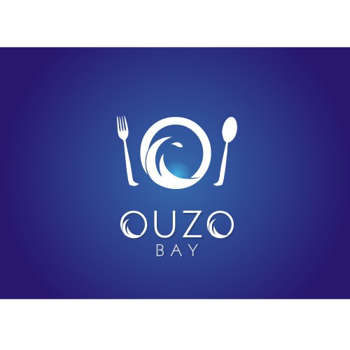 Logo for Restaurant SIGN: Ouzo Bay