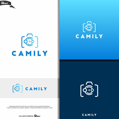 simple logo of camily