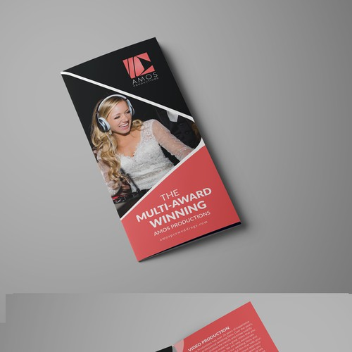 Tri-fold Brochure Design for AMOSPRO