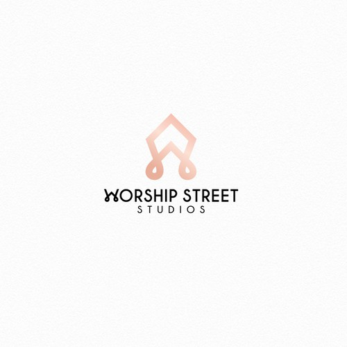 Simple, elegant, art deco inspired logo for female accessories company