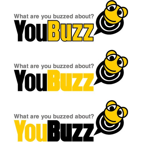 "Logo design for ""YouBuzz"""