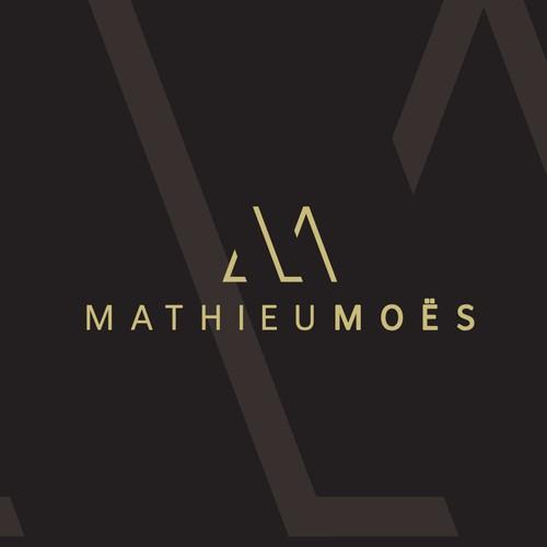 Minimalist logo for Music Artist