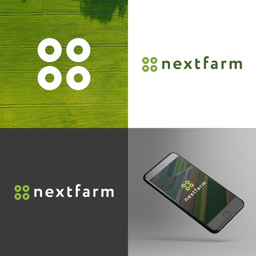 Logo for software company in agriculture industry