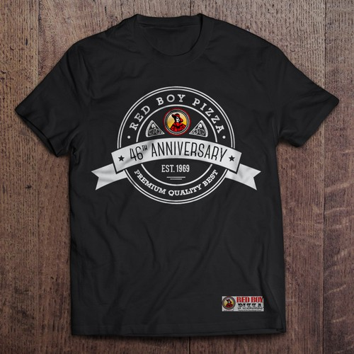 46th Anniversary Pizza Shirt