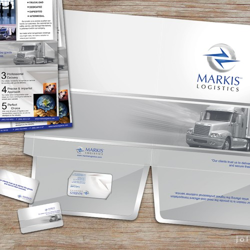 Help Markis Logistics with a new print design
