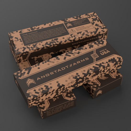 Rifle Box design.