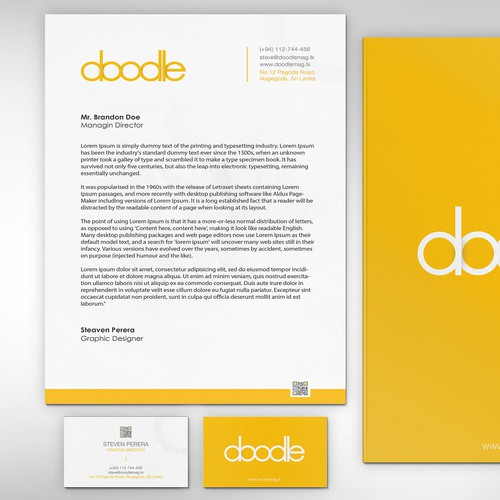 Corporate Identity for Doodle