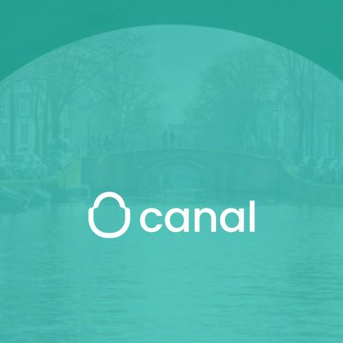 canal logo design