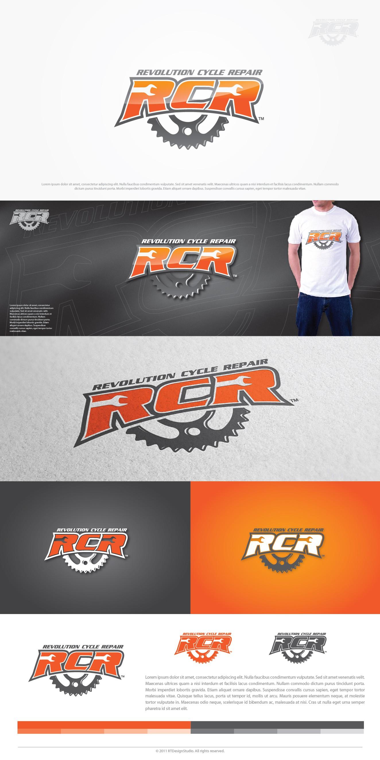 logo for Revolution Cycle Repair