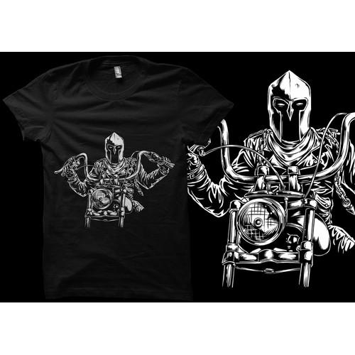 Spartan Rider artwork